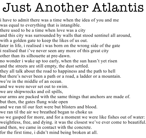 Just Another Atlantis