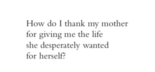 lang leav how do i thank my mother