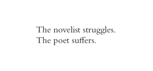 lang leav the poet struggles